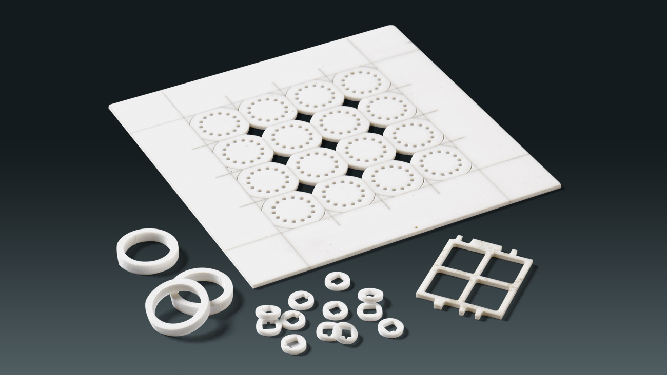 Low Volume, Quick Turn, Ceramic Substrates with Expert Laser Processing Critical in RF and Medical Supply Chains