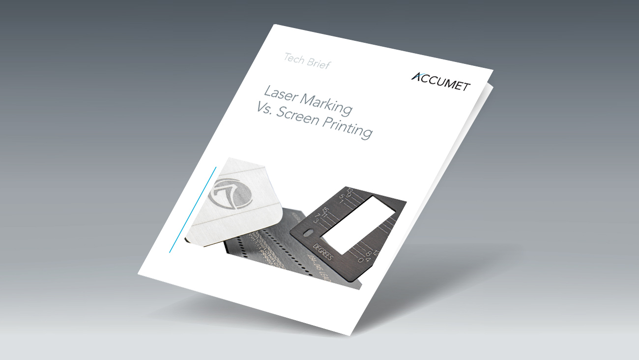 Tech Brief Describes the Laser Marking Alternative to Screen Printing